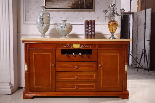 Online Shop antique wooden living room set coffee tableend tableTV