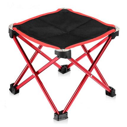 Ao ar livre portátil dobrável cadeira de pesca cadeira de três pés de fezes para picnic churrasco de praia