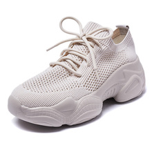 Women Shoes Woman 2019 Mesh Breathable Sneakers Woman Tide Tenis Sapato Feminino Casual Footwear Basket Femme Zapatos Mujer ulzzang harajuku trainers women casual shoes air mesh grils wedges shoes woman tenis feminino zapatos mujer ladies footwear