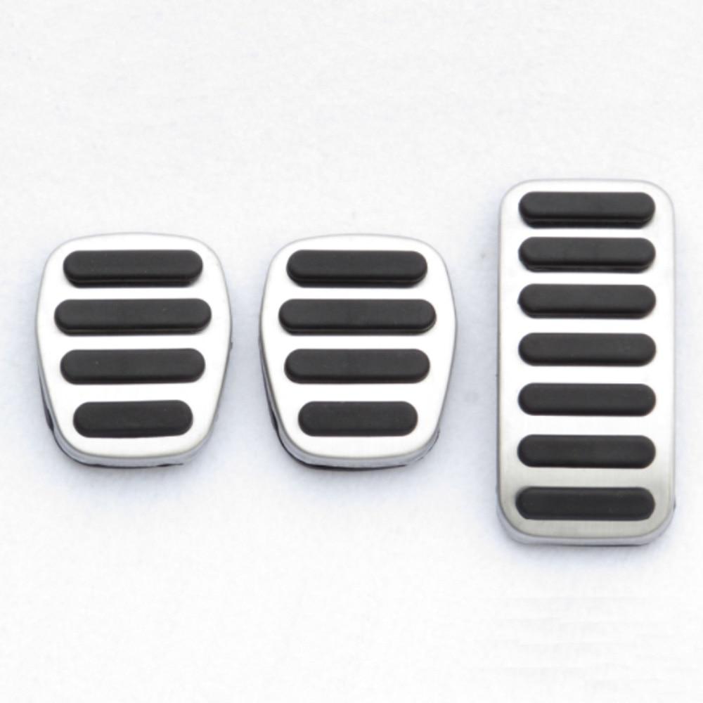 Педали акселератора из нержавеющей стали, автомобильные запчасти, автомобильные аксессуары для Volvo S40 V40 C30