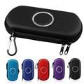 Com Mosquetão Disco Carry Zipper Case Bag Game Pouch Para Sony PSP 1000/2000/3000 Com 2 Memory Stick Mini Bolso De Armazenamento saco