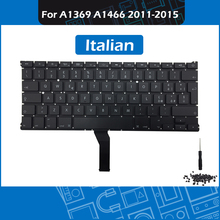 Laptop A1466 IT Italian Keyboard for Macbook Air 13″ A1369 A1466 Italy Replacement keyboard + Backlight Screws 2011-2015
