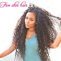 100% реальные человеческие волосы необработанный природный черный парик девы волос 150 плотность Glueless бразильского вьющиеся перед парики