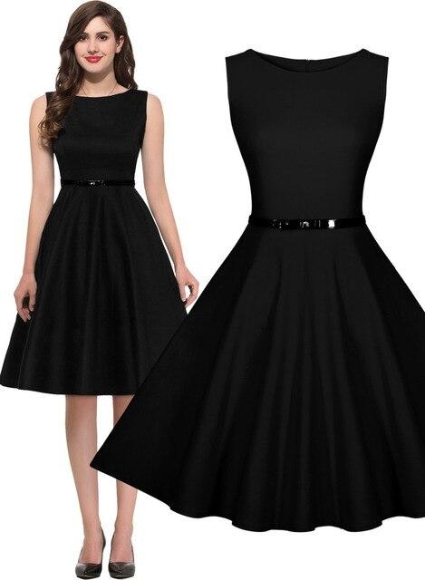 d73896f075b Women s 1950 s Rockabilly Vintage Party Bridesmaids Dresses Swing Skater  Ball Gown Sleeveless Summer dress 3244
