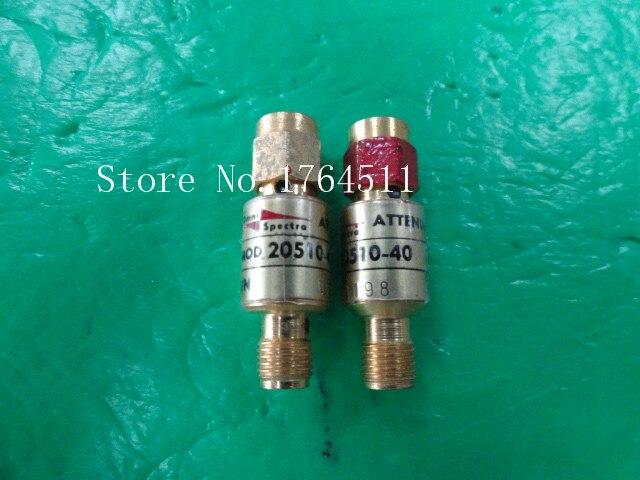 [BELLA] M/A-COM 20510-40 DC-4GHz 40dB 2W SMA Coaxial Fixed Attenuator  --2PCS/LOT