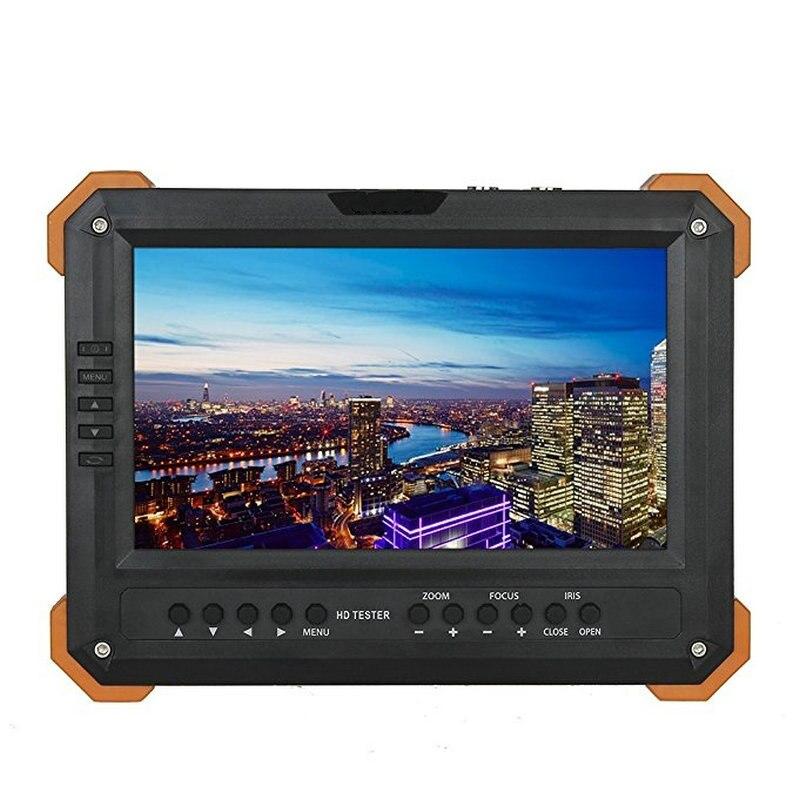7 Pouce TVI AHD Caméra Testeur CCTV Testeur Moniteur Analogique HD TVI3.0 AHD2.0 1080 P Test de L'appareil Photo VGA HDMI Entrée 12 V Ouput X41TAC