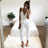 2016 Summer Fashion New Rompers And Jumpsuits Women Sexy