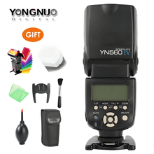 цена на Newest YONGNUO YN560-IV 2.4G Wireless Master & Group Flash Speedlite for Canon Nikon Pentax Sony Cameras,YN-560 IV,YN560IV