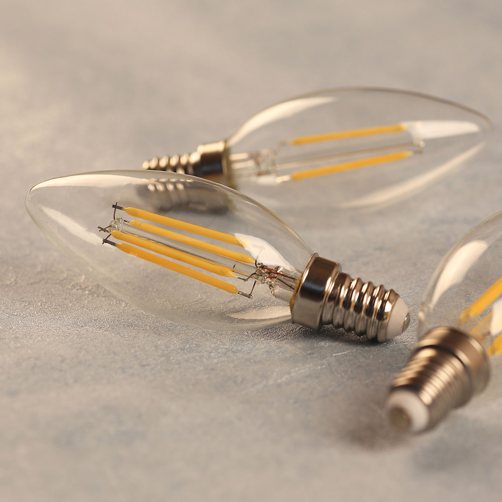 Led Bulb Dimmable 220V 240V 2W 4W 6W E14 Led Candle Bulb Light Retro Edison Filament Lamp Energy Saving Bombillas Living Room