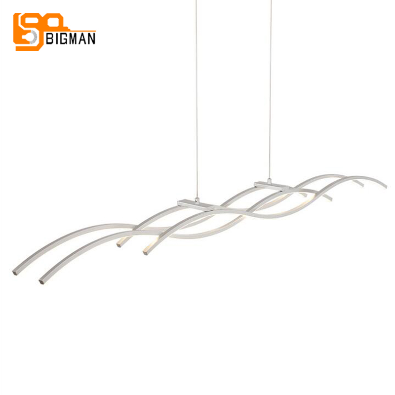 modern dinning room LED chandelier simple style hanging lamp bar light fast shipping