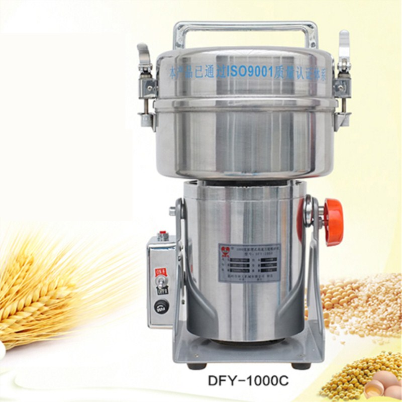 free ship 220V 800g electricfood grinding machine ,Cosmetics flour mill automatic coconut powder cocoa powder grinding machine hipp пюре картошка мое первое пюре с 4 месяцев 80 г