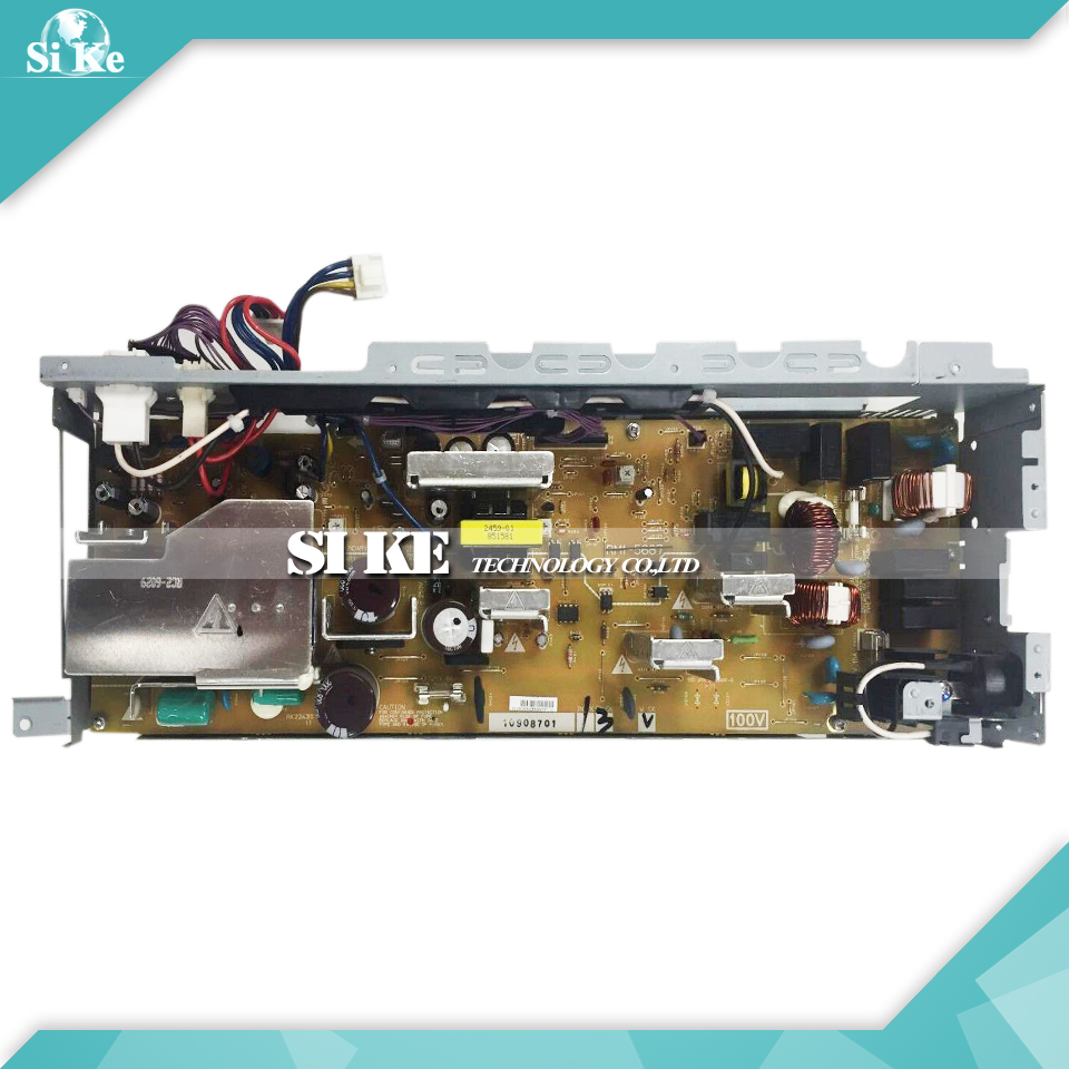 LaserJet Engine Control Power Board For HP CP3525 CP3525N 3525DN 3525 3525N RM1-5685 RM1-5686 Voltage Power Supply Board laserjet engine control power board for hp color laserjet cm1015 cm1017 rm1 4364 rm1 4363 1015 1017 voltage power supply board