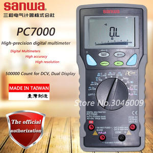 Sanwa Dual Multimeter Temperature-Test True Rms PC7000 Pc-Link Data-Display High-Accuracy/high-Resolution