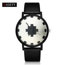 Top Brand Watch Women Fashion Casual Black Leather Analog Quartz Watch Ladies Simple Dress Sport Business Bracelet Wristwatches цена