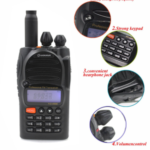 Image 2 - Jancore wouxun KG 699E 66 88 mhz walkie talkie com display lcd ip55 impermeável 1700mah kg699e handheld rádio em dois sentidos
