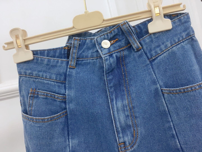 Mujer Ancho Blue Diseño Patchwork Calle Casuales Pantalones Azul Las Estilo Verano Mujeres 2019 De Primavera La Jeans Largo Pierna nxUwOpzZqf
