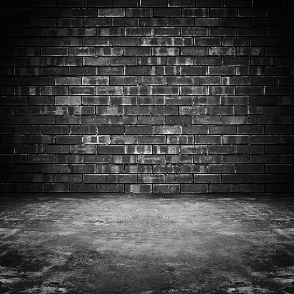 Life Magic Box Black Brick Wall Background Backdrop