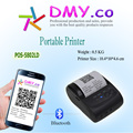 DMYCO Mini portable pos thermal printer 58mm Android-Bluetooth thermal printer Receipt label printers Marker with thermal papers