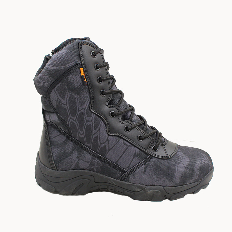 2019 Men military boots camouflage tactical combat boots  4