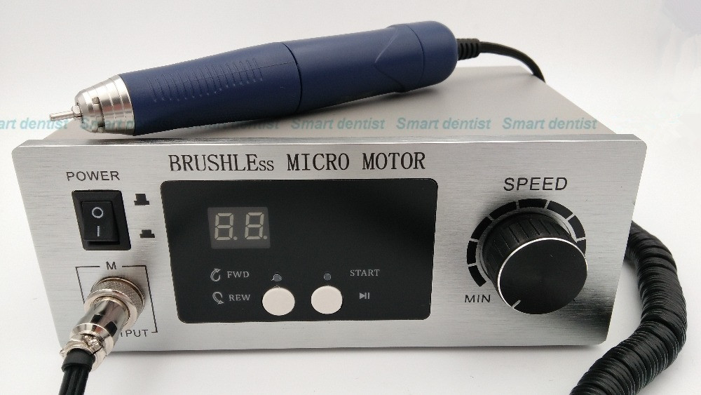 Free Shipping Brushless micro motor Dental Micromotor electrical Polishing machine Unit with lab handpiece carving mahine lyncmed endodontic treatment wireless endo motor handpiece surgical brushless motor reciprocating cutting mode