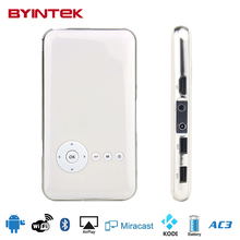 Byintek MD323 Miracast Portable Pocket Pico HD Smart Android USB Video Wifi Micro DLP LED Mini Phone Projector For Phone