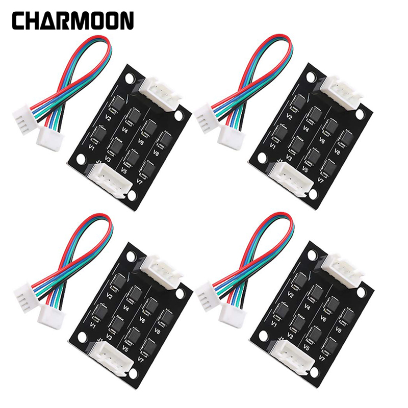 TL Smoother Addon Module for Pattern Elimination Motor Clipping Filter 3D Printer Stepper Motor Drivers 5 PCS