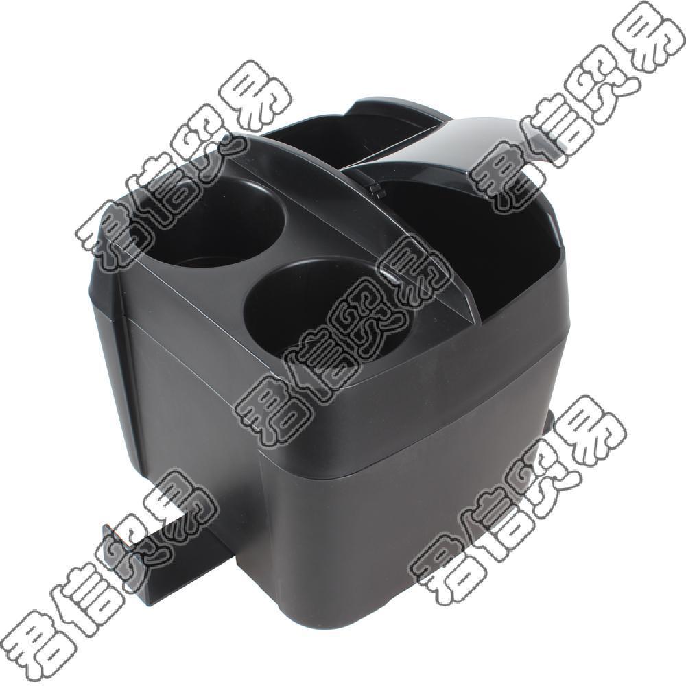 Многофункциональный 3 в 1 Автомобильный подстаканник/мусорное ведро/зажим для ткани бутылка для напитков может мусорное ведро зажим для ткани - Название цвета: black