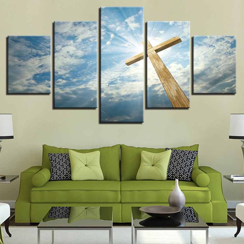 Canvas Pictures Home Decor For Living Room Wall Art HD