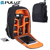 PULUZ PU5011 Outdoor Portable Waterproof Scratch proof Dual Shoulders Backpack Camera Accessories Bag Digital DSLR Photo Bag
