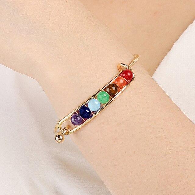 7 Chakra Balance Bracelet 4