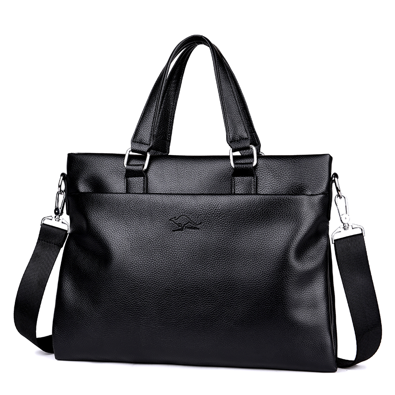 Casual Men Business Shoulder Bags Genuine Leather Briefcase Vintage Messenger Travel Bags Male Crossbody Bags Laptop Handbags