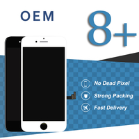 OEM Black White High Screen For iPhone 8 Plus LCD Screen With 3D Force No Dead Pixel Display Phone Replacement Part Accessories