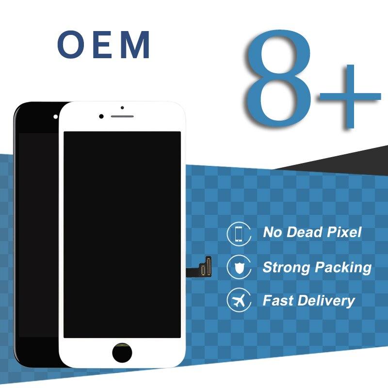 5 pièces écran haut de gamme ESR pour iPhone 8 Plus écran LCD avec Force 3D pas de Pixel mort affichage téléphone pièce de rechange accessoires