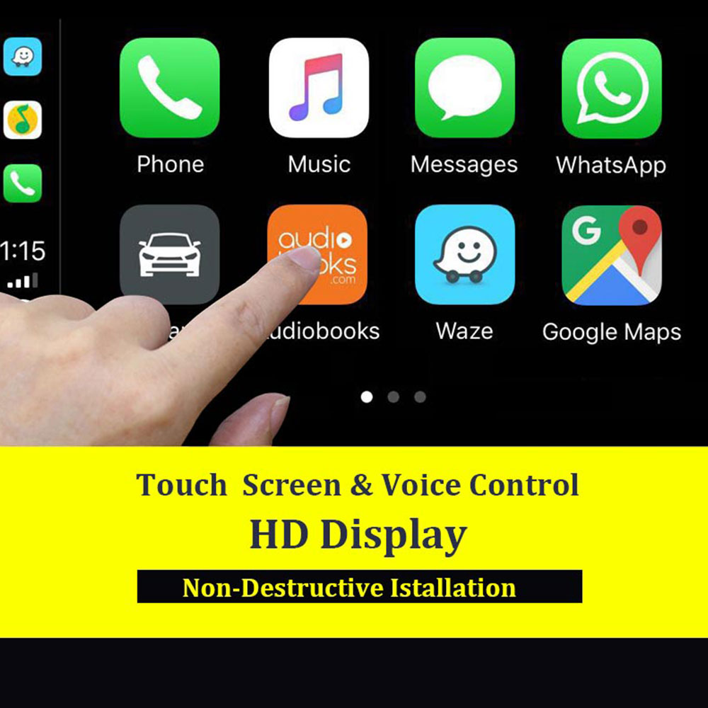 Carlinkit USB Smart Link Apple CarPlay Dongle для Android навигационный плеер мини USB Carplay Stick с Android Auto