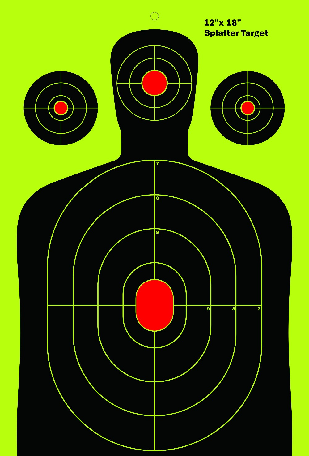 The Ultimate Reactive Splatter Targets For Shooting 25 pieces per pack 12 x 18 inches