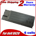 6 células bateria para Dell Latitude D620 D630 D631 JD775 JY366 KD489 KD491 KD492 KD494 KD495 NT379 PC764 PC765