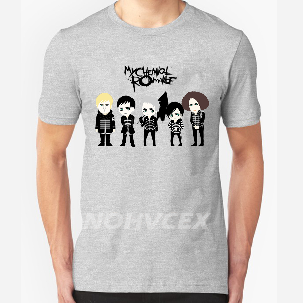 Hot Sale My Chemical Romance Mcr Custom Design T Shirt Men Summer