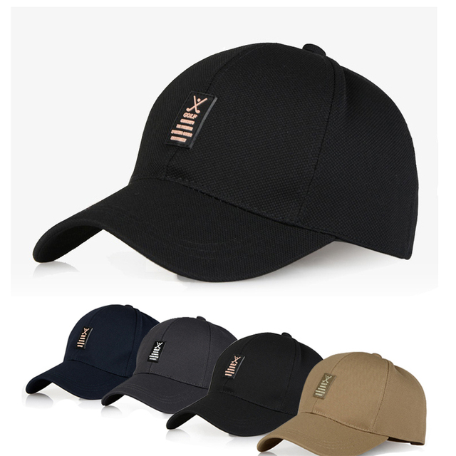Baseball Cap Golfe Hat Sunscreen Cap Of Hair accessories For Polo T Shirt Other Man Supplies Black,Navy,Khaki,Dark Gray Caps