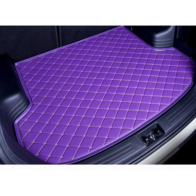 custom car trunk mat for subaru forester 2014 2017 2016 xv 2018 legacy Cargo Liner Interior Accessories Carpet car styling custom fit car trunk mat for subaru forester legacy outback tribeca xv 3d heavy duty all weather tray carpet cargo liner