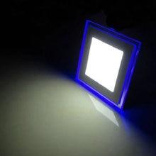 AC 85-265V Square LED Panel Light Downlight 10W 15W 20W Cool White  Warm White Light  La luz del panel