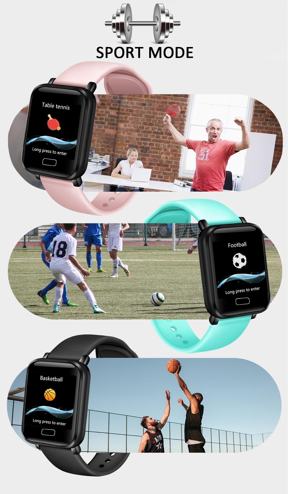 HTB1fA8aa5 1gK0jSZFqq6ApaXXaL LIGE Smart Bracelet Women IP67 Waterproof Fitness Tracker Wristband Pedometer Heart Rate Monitor Sport Smart watch Android ios