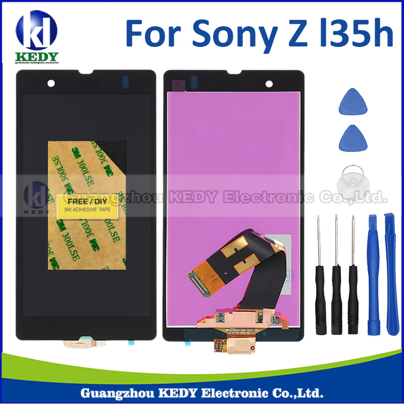 LCD Display For Sony Xperia Z L36h L36i C6601 C6602 C6603 Touch Screen Digitizer assembly+tools