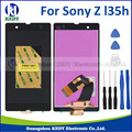 Pantalla lcd para sony xperia z l36h l36i c6601 c6602 c6603 pantalla táctil del digitizador assembly + herramientas