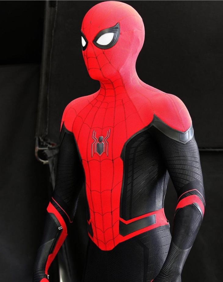 3d Printed Far From Home Spiderman Costume Spiderman Cosplay