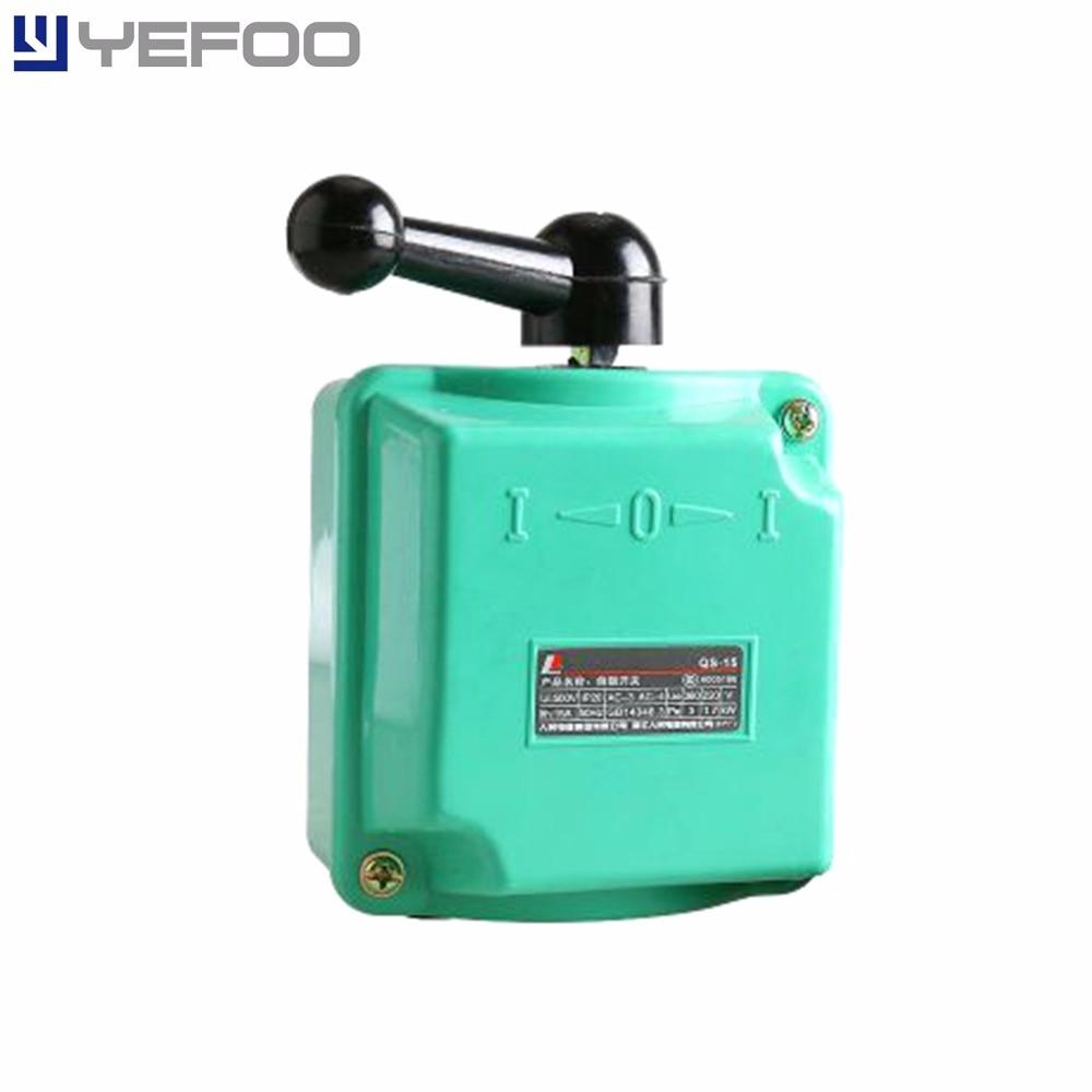 Qs15a Qs 15a 15amp Rain Proof Reversing Drum Switch