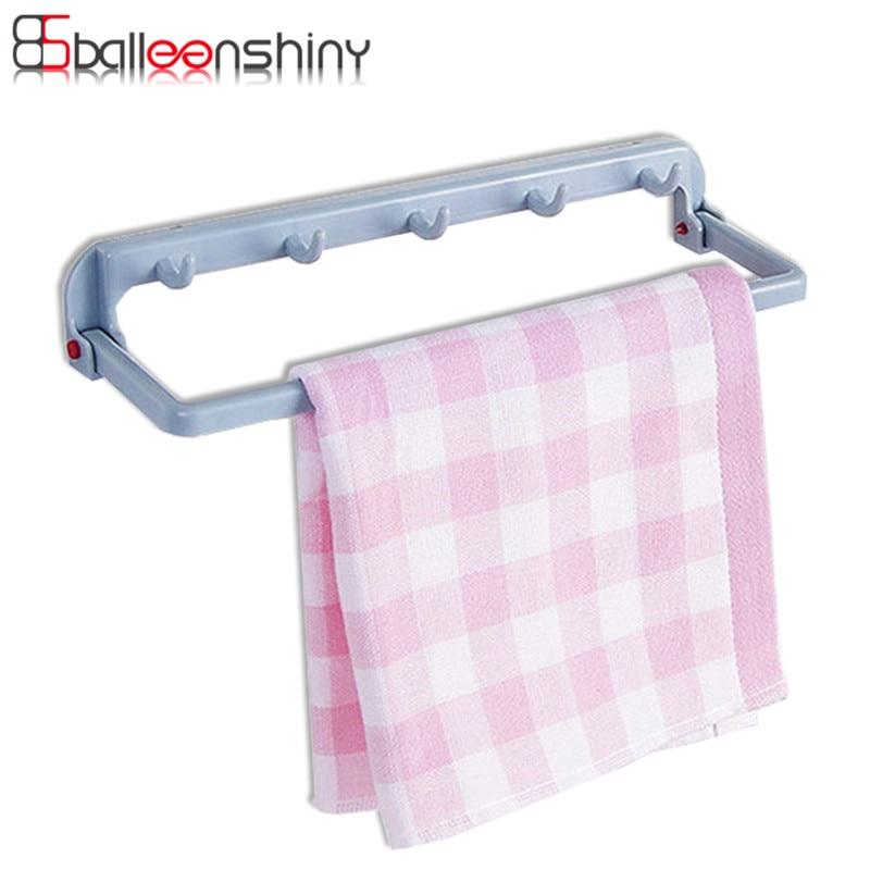 Door Mounted Kitchen Towel Rack