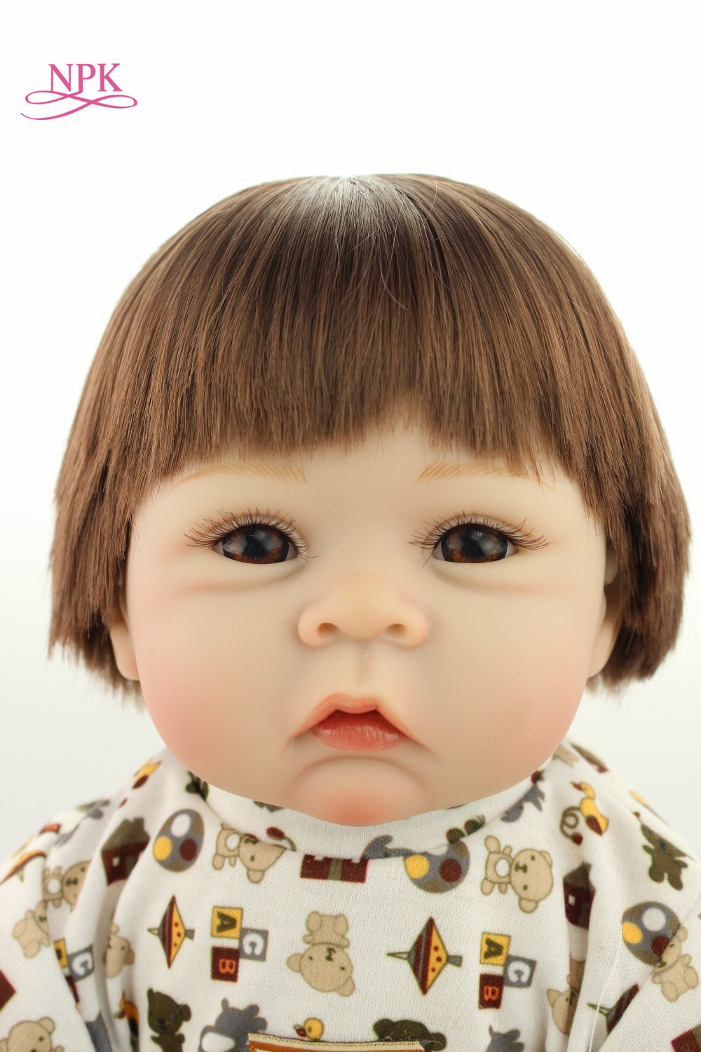 NPK Hot selling doll lifelike reborn baby doll rooted human hair fashion doll Christmas gift lovely giftsNPK Hot selling doll lifelike reborn baby doll rooted human hair fashion doll Christmas gift lovely gifts