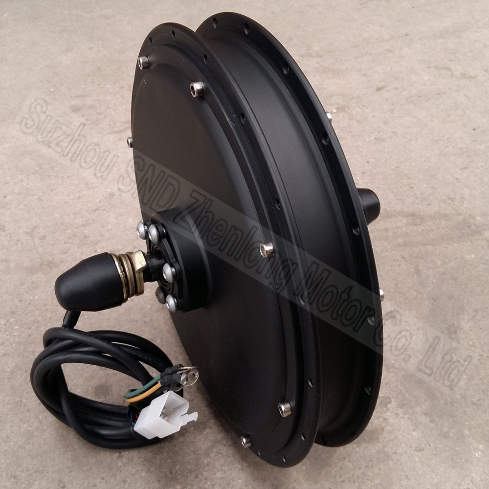 48V 500w electric bicycle diy spoke front wheel hub motor speed 53km/h 26inch G-M022 - Suzhou SND Zhenlong Motor Co. Ltd store