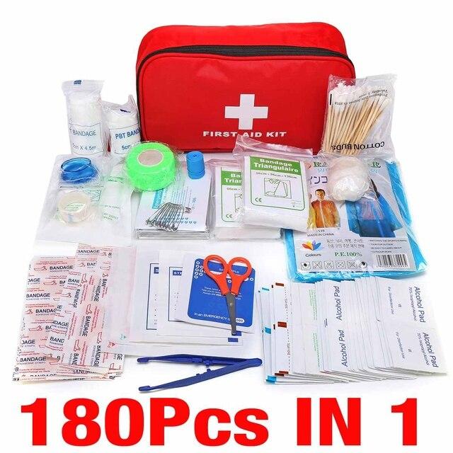 Portable 16-300Pcs Emergency Survival Set First Aid Kit for Medicines Outdoor Camping Hiking Medical Bag Emergency Handbag 5