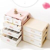 Eco Friendly Drawer Organizer PP Plastic Storage Boxes Multi layer Classification Storage Drawers Home Makeup Organizer